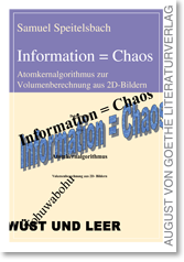Foto: Cover: Information = Chaos